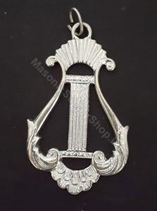 Organist Harp  Collar Jewel  Dis