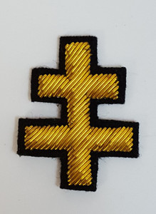 Knight Templar  Gold Cross