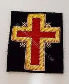 Knight Templar  Red Cross  Large