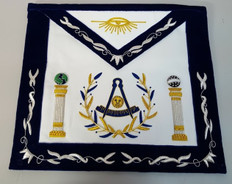 Past Masters Apron-19   Hand Embroidered