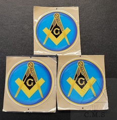 Masonic Car Decals