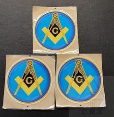 Masonic Car Decals