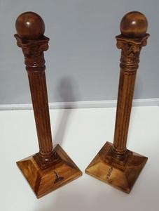 Masonic Wardens Columns
