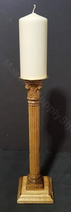 Masonic Candle Holder