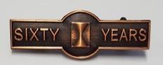 sixty year member bar