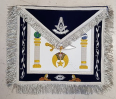 Shrine Custom Past Master Apron-2, Apron Case and Jewel Special