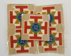 Car Decal  Scottish Rite 32nd Degree   5 pack