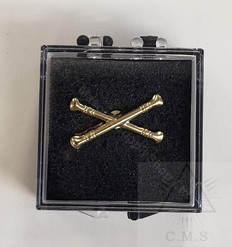 Lodge Marshal Lapel Pin  Crossed Batons
