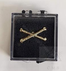 Lodge Marshal Lapel Pin  Crossed Batons
