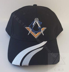 Masonic Baseball Hat  Square and Compass with G