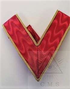 Red Collar with Gold trim