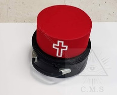 Knight Templar Hat and case