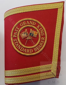 Royal Arch Grand Chapter Cuffs , Gauntlets   custom made