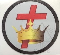 Knight Templar car decal