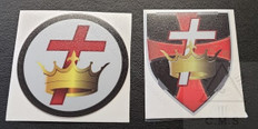 Knight Templar car decals