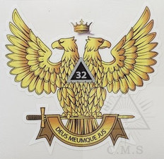 Scottish Rite car Decal