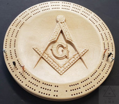 Masonic Cribbage Board