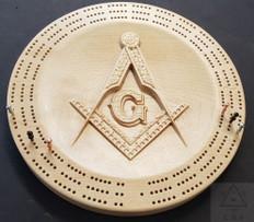 Masonic Cribbage Board