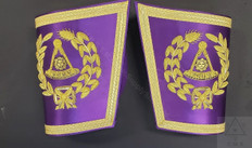 Masonic Grand Lodge Cuffs  Gauntlets