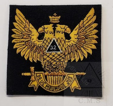 Badge  Scottish Rite Double Headed Eagle