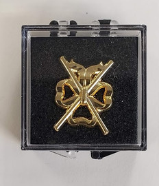 Lodge Director of Ceremonies l Lapel Pin  Crossed Batons
