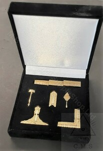 Miniature Set of Masonic Working Tools  set of 6 Tools