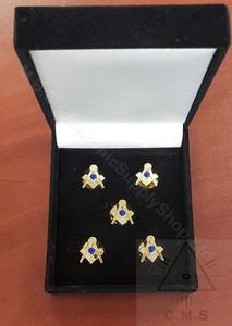 Masonic shirt studs