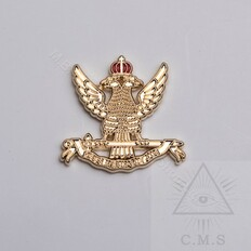Scottish Rite Eagle Lapel Pin