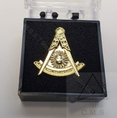 Masonic  Lapel pin  Past Masters  Emblem