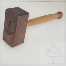 Thor Style Masonic Gavel