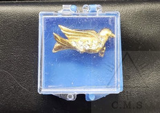 O.E.S.  Dove Broach Pin