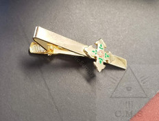 Red Cross Of Constantine  Tie Bar