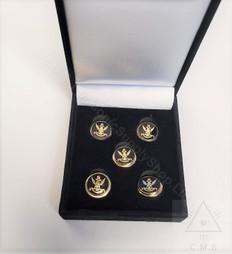 Set of five Scottish Rite Button Covers
