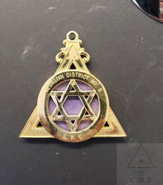 Royal Arch Grand Chapter  Collar Jewel  Used