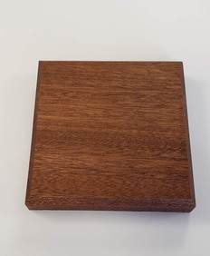 Square  Gavel Sounding Block  Walnut wood