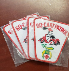 Shrine  Go Cart Corp  sew on badges