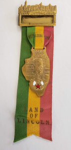 Vintage Shrine Delegate  Jewel  1968  Chicago