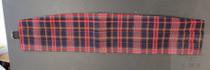 Tartan  100%  Wool Cummerbund   made in Scotland  discontinued  line