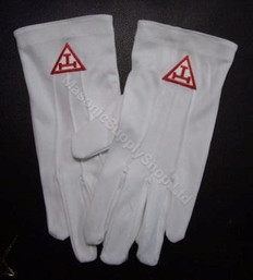 Royal Arch Dress Gloves  10 pack Chapter Special!