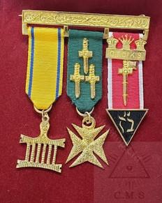 Allied Masonic degrees  Mini Jewels