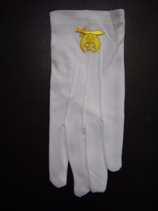 Shrine Dress Gloves   10 pack Shrine Club Special!