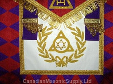 Masonic Collectible  Apron   107   Royal Arch Grand Chapter Apron
