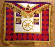 Masonic Collectible  Apron   110   Royal Arch Grand Chapter Apron