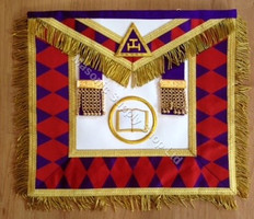 Masonic Collectible  Apron   111  Royal Arch Grand Chapter Apron
