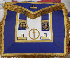 Masonic Collectible  Apron   112  Grand  Lodge  Apron