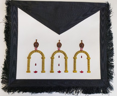 Scottish Rite 10th degree collectible apron  133