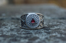 Eye of Providence ring