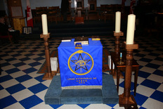 Custom Made  Lodge Furniture  Altars, Pedestals, Columns & Pillars