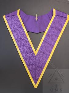 Purple Masonic Collar
