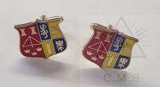 Custom Made Masonic Cuff Links